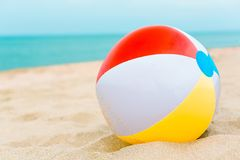 Plażowa piłka Obraz Stock