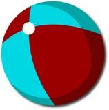 Plażowa piłka dla ciebie projektuje Obrazy Royalty Free