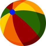 Plażowa piłka dla ciebie projektuje Fotografia Stock