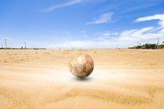plażowa piłka nożna Zdjęcia Stock