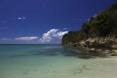plażowa relaksująca scena Zdjęcie Stock