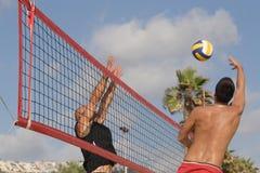 plażowa siatkówka Zdjęcia Royalty Free