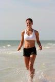 plażowa sprawność fizyczna Obrazy Royalty Free