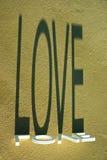 plażowa złocista miłość Zdjęcia Royalty Free