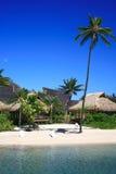 plażowa zaciszność zdjęcie royalty free