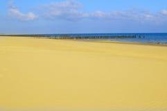 plażowa zaciszność zdjęcia royalty free