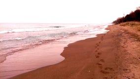 plażowa zima zdjęcie stock