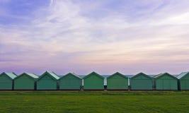 plażowe budy Zdjęcie Royalty Free