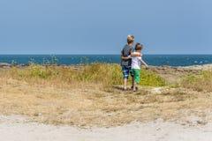 Plażowe chłopiec Zdjęcie Royalty Free