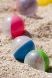 Plażowe piłki Zdjęcia Royalty Free
