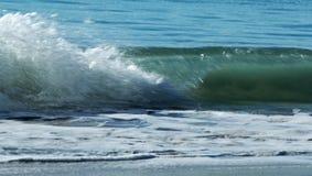 plażowe piaska kipieli fala Fotografia Stock