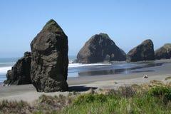 plażowe skały Zdjęcie Stock