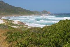 plażowego łamaczy przylądka dobra nadzieja Zdjęcia Stock
