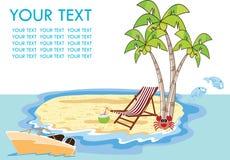 plażowego Brighton krzesła dzień pokładu England wakacyjny lounger nadmorski lato słońce wietrzny Ilustracja Wektor