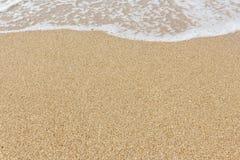 Plażowego i piasek tło Obrazy Stock