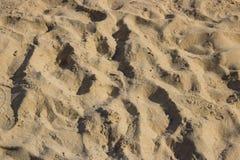 plażowego piaska makro- zakończenie up zdjęcie stock