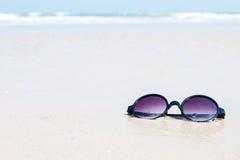 plażowego wysp piaska similan okulary przeciwsłoneczne Thailand Zdjęcie Stock