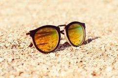 plażowego wysp piaska similan okulary przeciwsłoneczne Thailand Zdjęcia Royalty Free