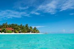 plażowego wyspy raju plażowy tropikalny Obrazy Stock