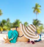 plażowej brzegowej cibory śródziemnomorska piaska kamieni lato kipiel zdjęcie stock