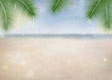 plażowej brzegowej cibory śródziemnomorska piaska kamieni lato kipiel abstrakcjonistyczna tła koloru woda Cyfrowej sztuki farba Obraz Stock