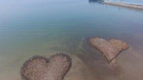 plażowej kierowej wyspy Italy kamienny stromboli zbiory
