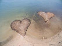 plażowej kierowej wyspy Italy kamienny stromboli obrazy royalty free