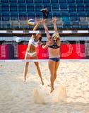 2011 Plażowej siatkówki światu mistrzostwo - Rzym, Włochy Fotografia Stock