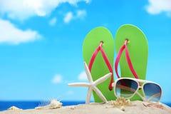 Plażowi Akcesoria obraz stock