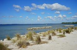 plażowi budynki Florida zdjęcie royalty free