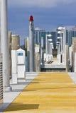 plażowi budynki Miami zdjęcie royalty free
