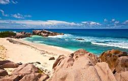 plażowi duży kamienie Obraz Stock