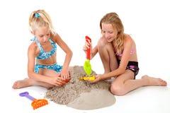 plażowi dziewczyn odzieży potomstwa Zdjęcia Royalty Free