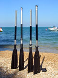 plażowi elektrody łodzi Obrazy Stock