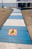 plażowi invalids zdjęcie royalty free
