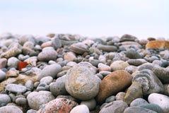 plażowi kamienie obraz stock
