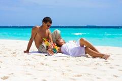 plażowi koktajle Zdjęcia Royalty Free