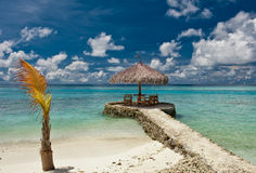 plażowi krzesła Obraz Royalty Free
