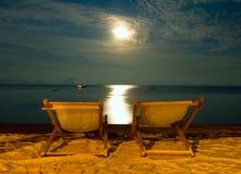 Plażowi krzesła Zdjęcie Royalty Free