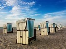 plażowi krzesła Zdjęcie Stock