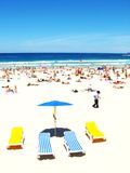 plażowi krzesło fotografia royalty free
