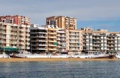 Plażowi Los Locos w Torrevieja miejscowości wypoczynkowej Hiszpania obraz royalty free