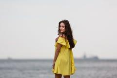 plażowi młodych dziewcząt Zdjęcia Stock