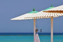 plażowi parasole Obraz Stock