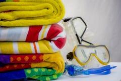 Plażowi ręczniki Obraz Stock