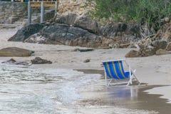Plażowi ręczniki obrazy stock