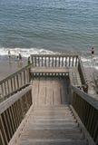plażowi schody. fotografia royalty free