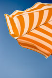 plażowy ścinek zawierać ścieżki parasol Fotografia Stock