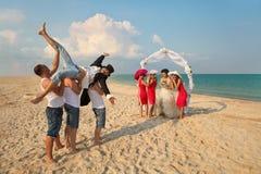 Plażowy ślub Obraz Stock