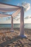 Plażowy ślub Zdjęcie Royalty Free